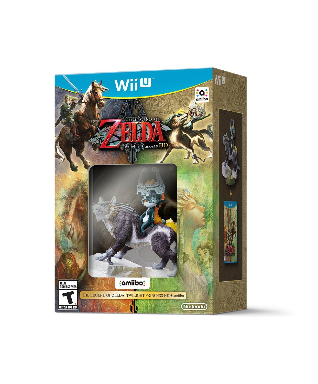 Amazon: Legend of Zelda: Twilight Princess HD para Wii U Special Limited Edition a $899