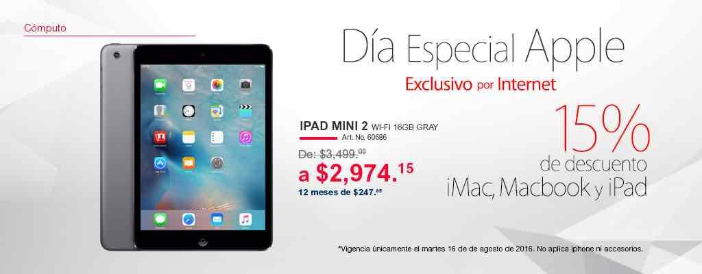 Office Depot en línea: día especial Apple (15% de descuento en iMac, MacBook y iPad)