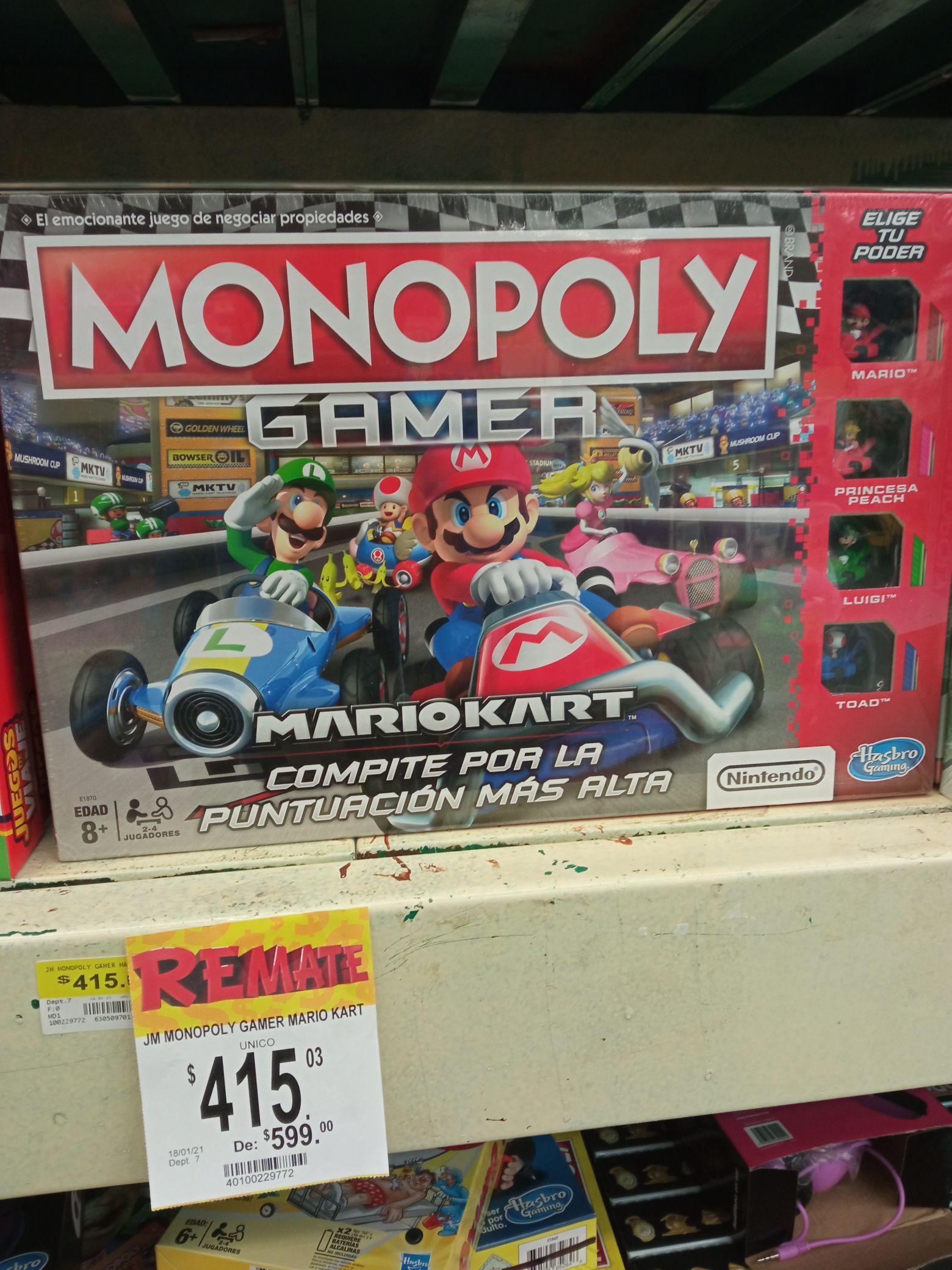 Bodega Aurrerá: Mario kart monopoly