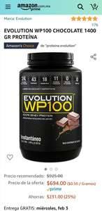 Amazon: Proteina Evolucion WP 100 de 1400gr