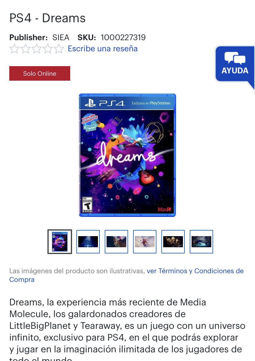 Best Buy: Dreams PS4