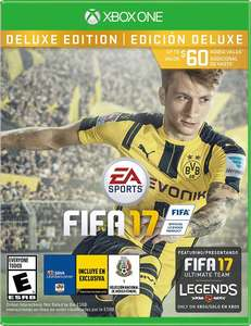 Amazon: Fifa 17 Deluxe Edition para Xbox One