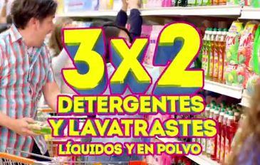 Julio Regalado en La Comer: 3x2 en detergentes y lavatrastes líquidos y en polvo