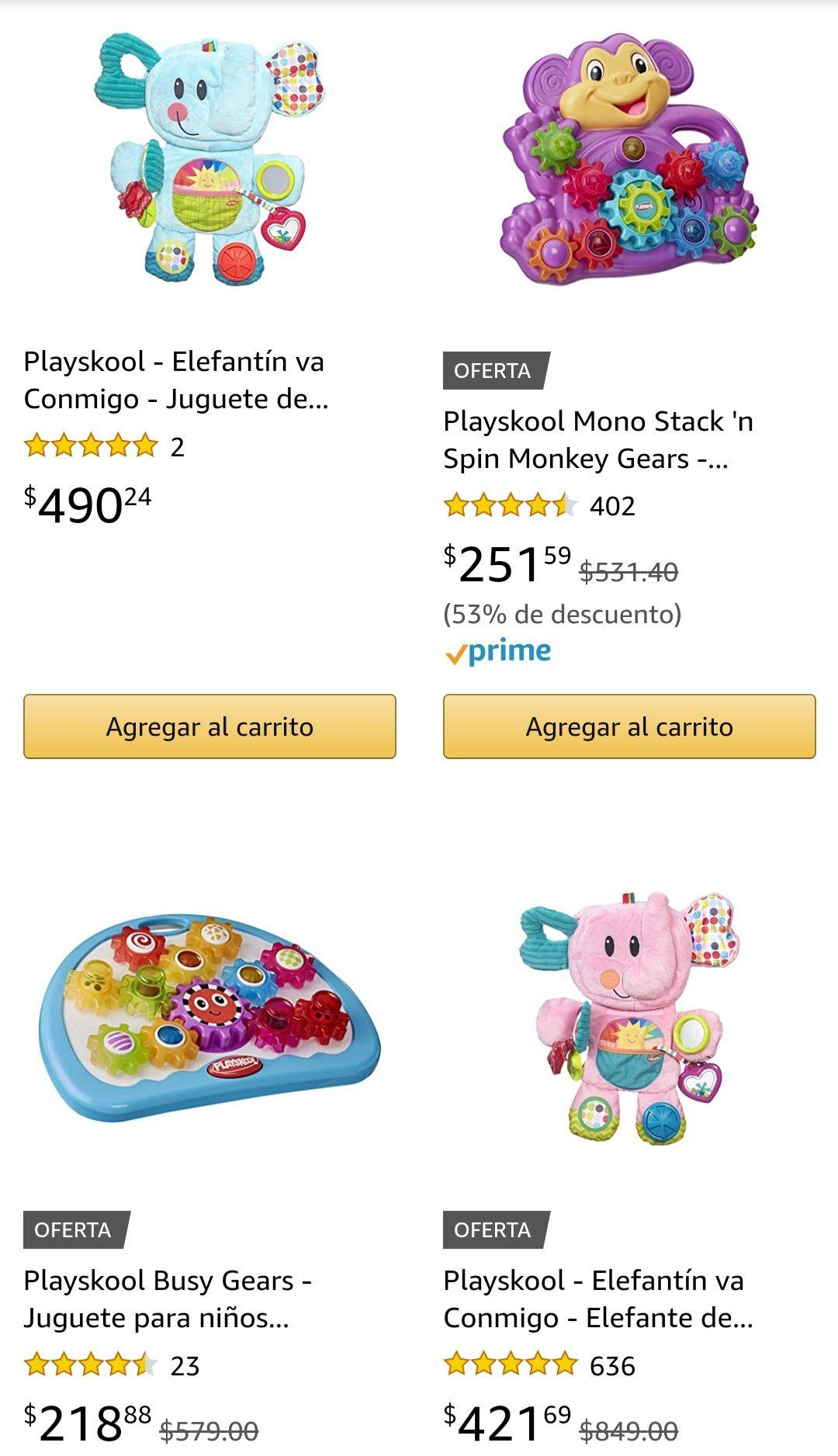 Amazon: Variedad De Juguetes Playskool en oferta para las bendiciones