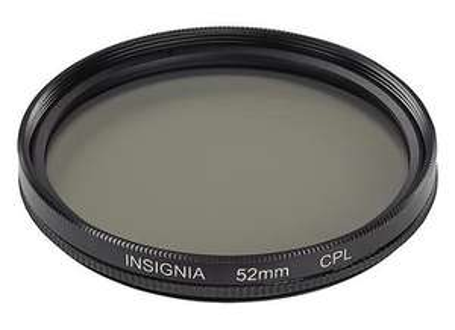 Best Buy Insignia - Lente polarizador circular 52mm para cámara dslr