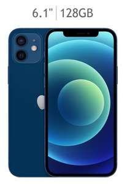 Costco - Apple iPhone 12 128GB Azul (Telcel)