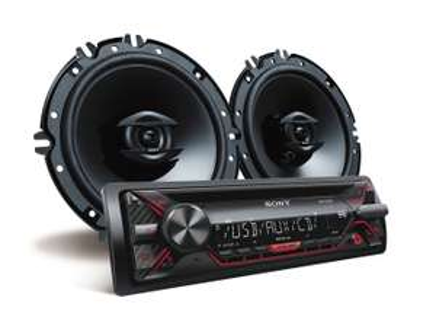 Best Buy: Sony - Autoestéreo con CD y USB CXSG1216U - Negro