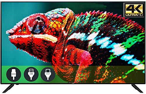 """Amazon: JVC TV de 50"""" con Resolución 4k Ultra HD LED Marco Delgado Entradas de HDMI USB VGA (LT-50MAW500) (Renewed)"""