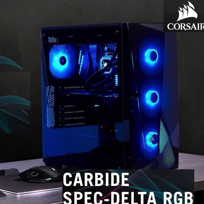 Cyberpuerta: Gabinete Corsair SPEC-DELTA 4 Ventiladores 3 RGB