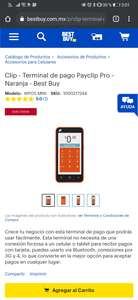 Best Buy: Payclip pro naranja