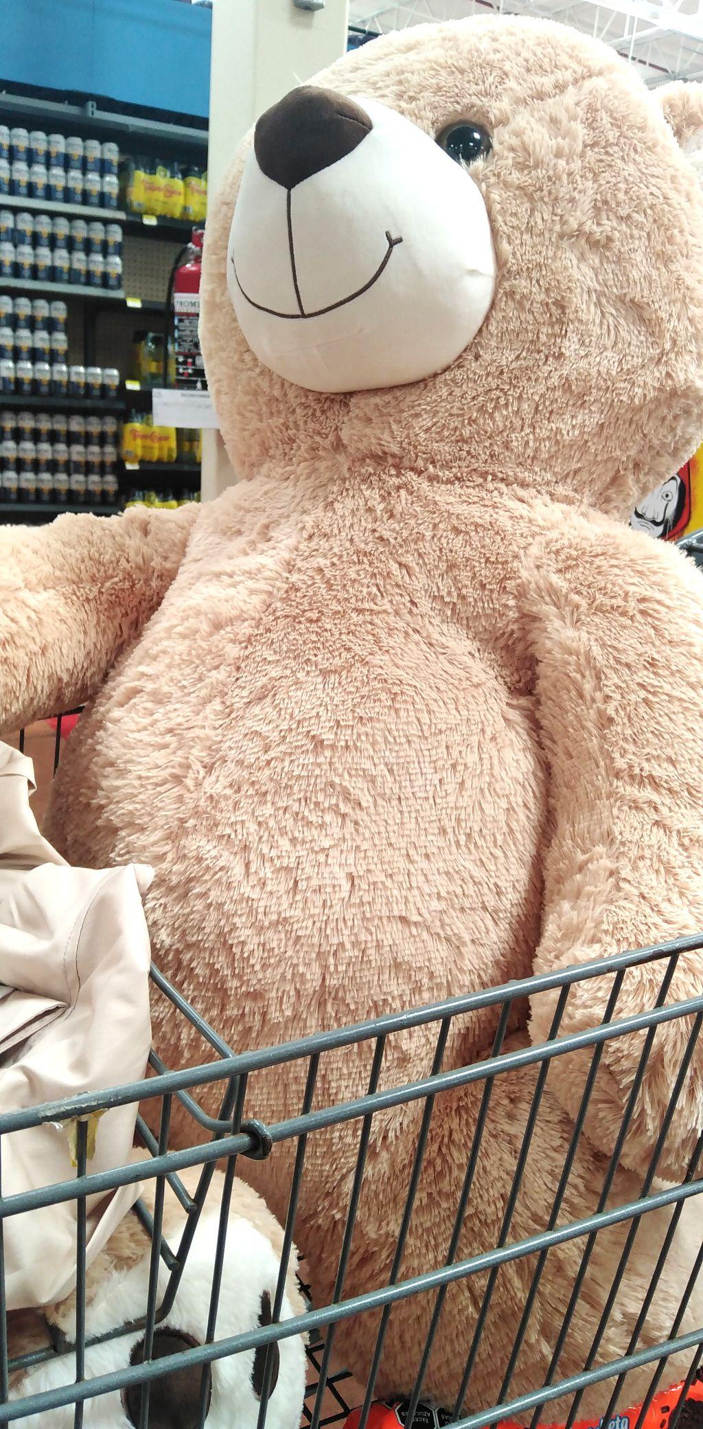Walmart: Oso peluche Jumbo (mini promonovela)