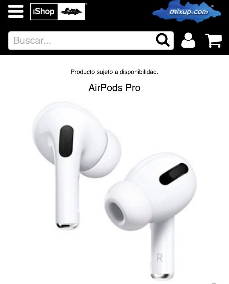 Ishop Mixup: AirPods Pro con 10% de Descuento