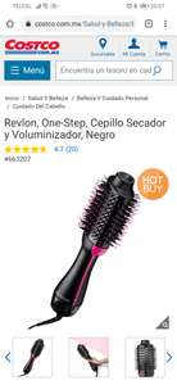Revlon One-Step Cepillo secador-Costco en linea