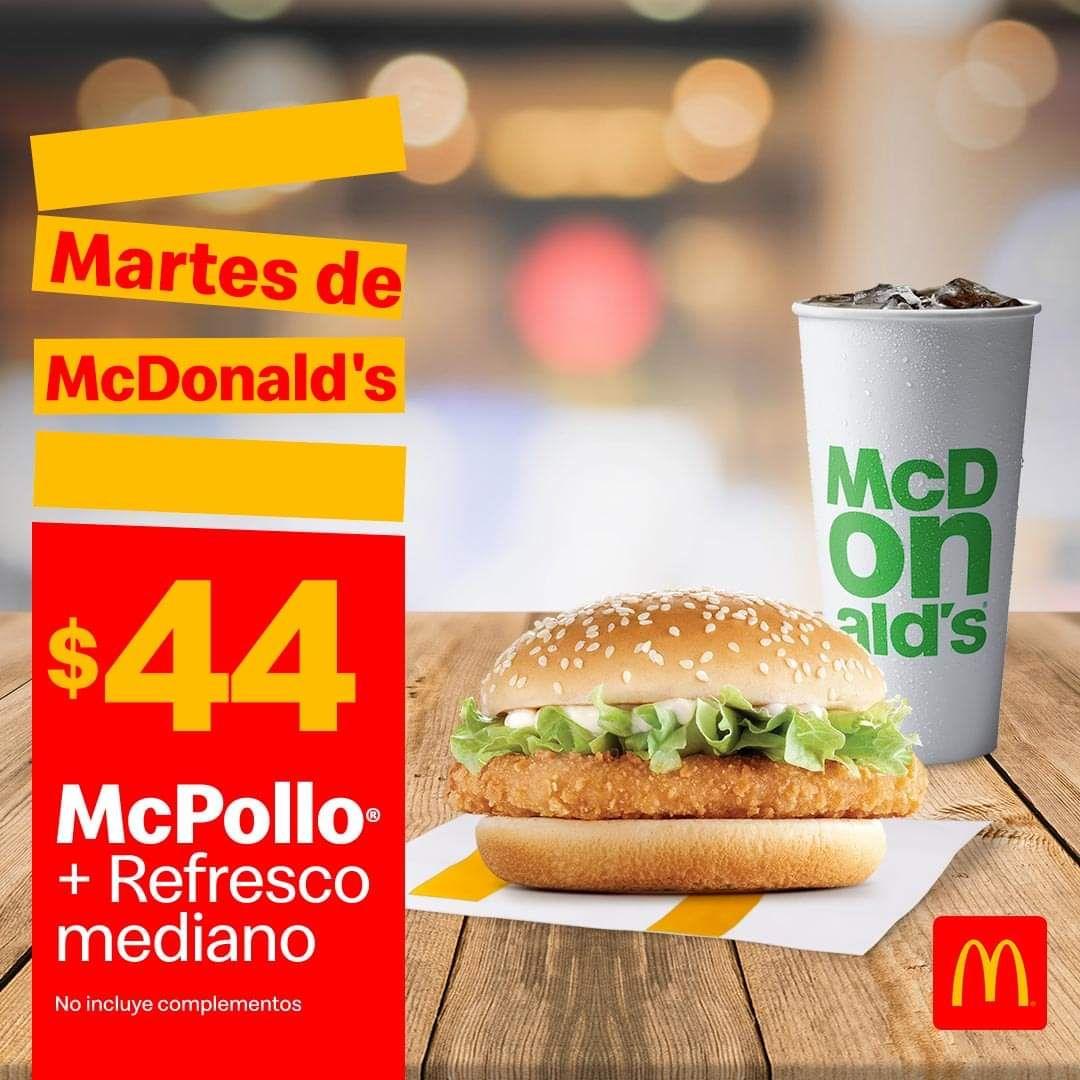 McDonald's: Martes de McDonald's 2 Febrero