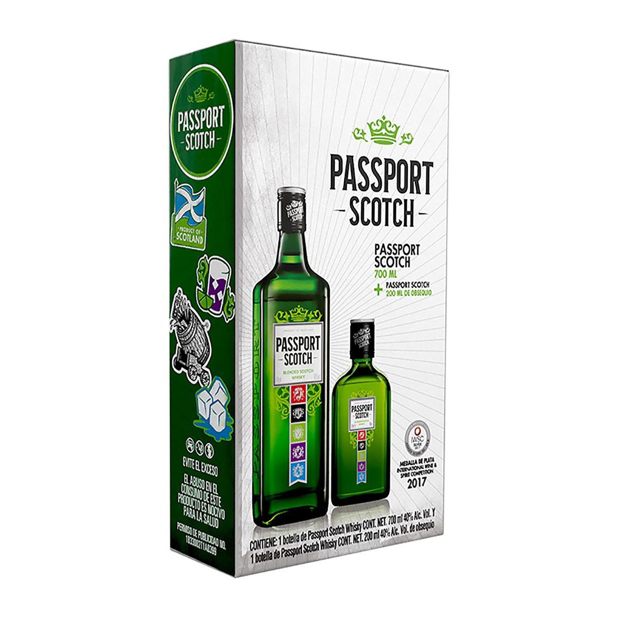 Chedraui whisky passport 750ml