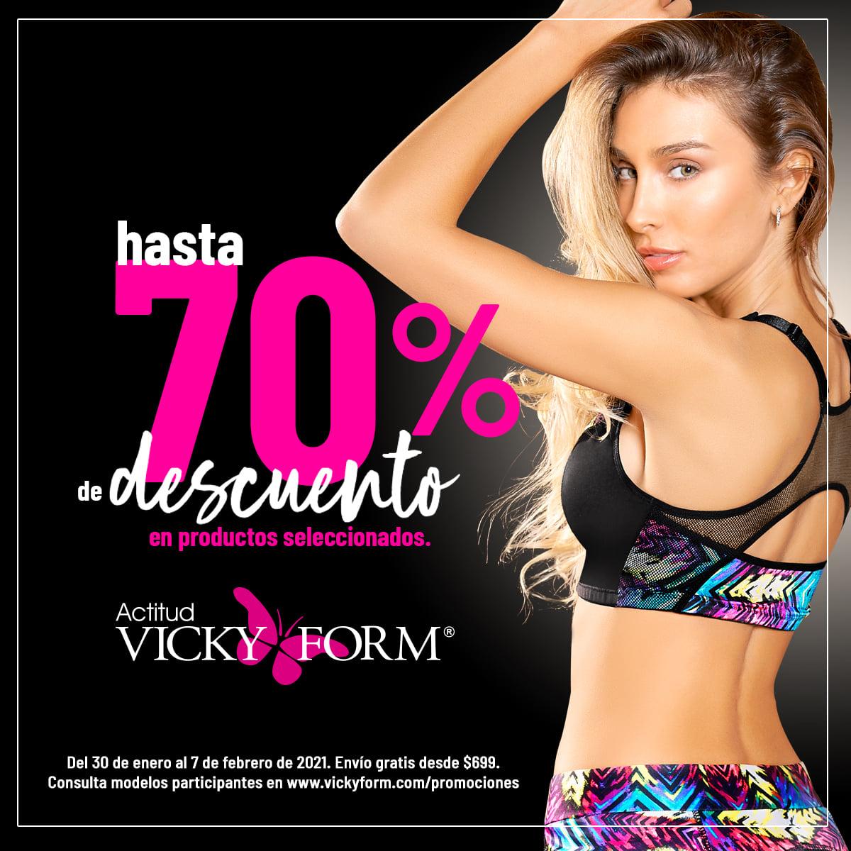 Vicky Form: Venta Final Hasta 70% + 10% Adicional