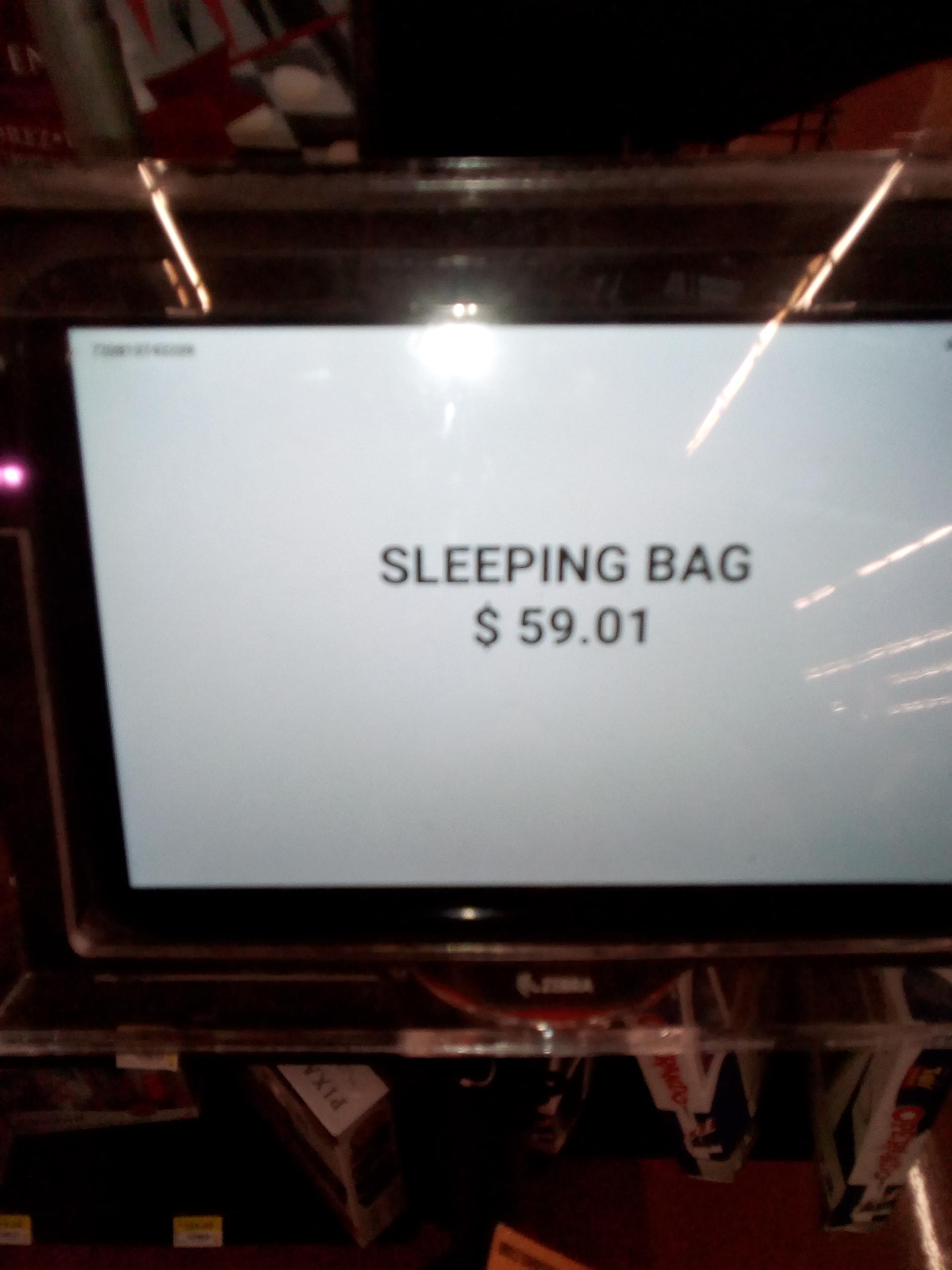 Walmart bolsa de dormir nerf