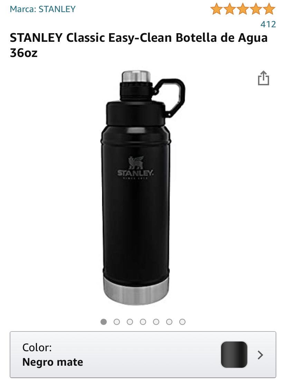 Amazon: Botella de agua - Termo de 36oz - 1lt