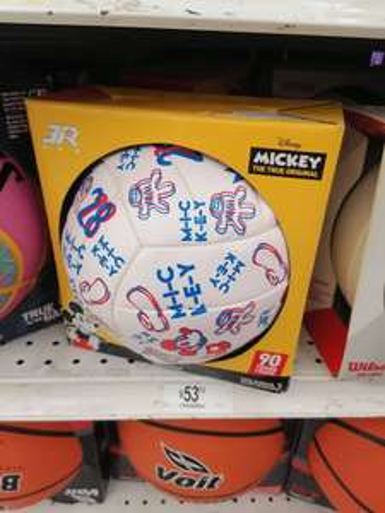 Chedraui Cancun: Balon Volleyball 3R Mickey