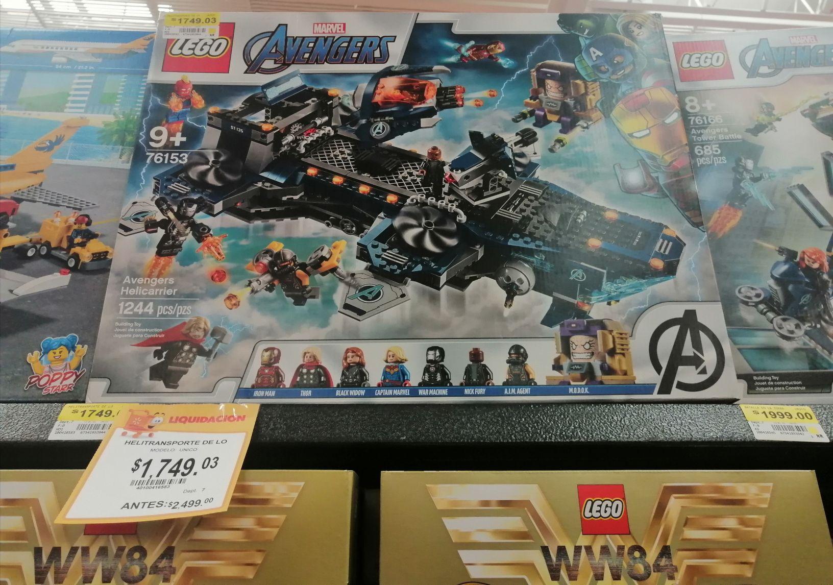 Walmart: Lego Avengers 2da liquidacion