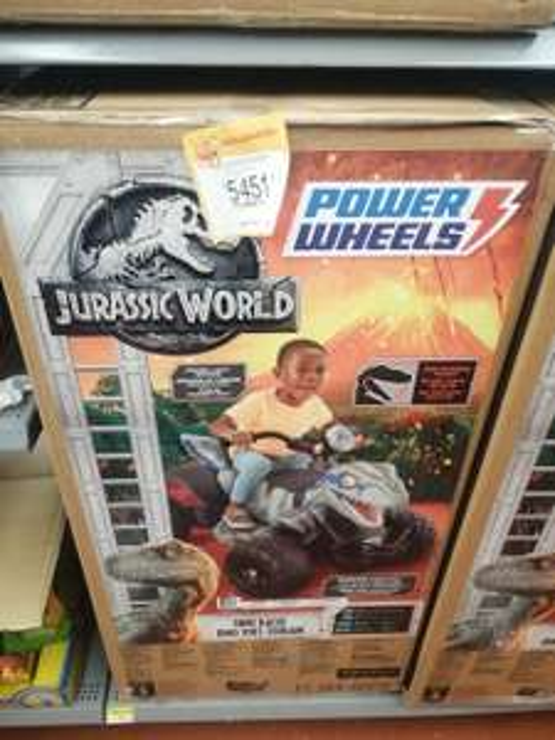 Walmart Aguascalientes: montable Jurassic park blue