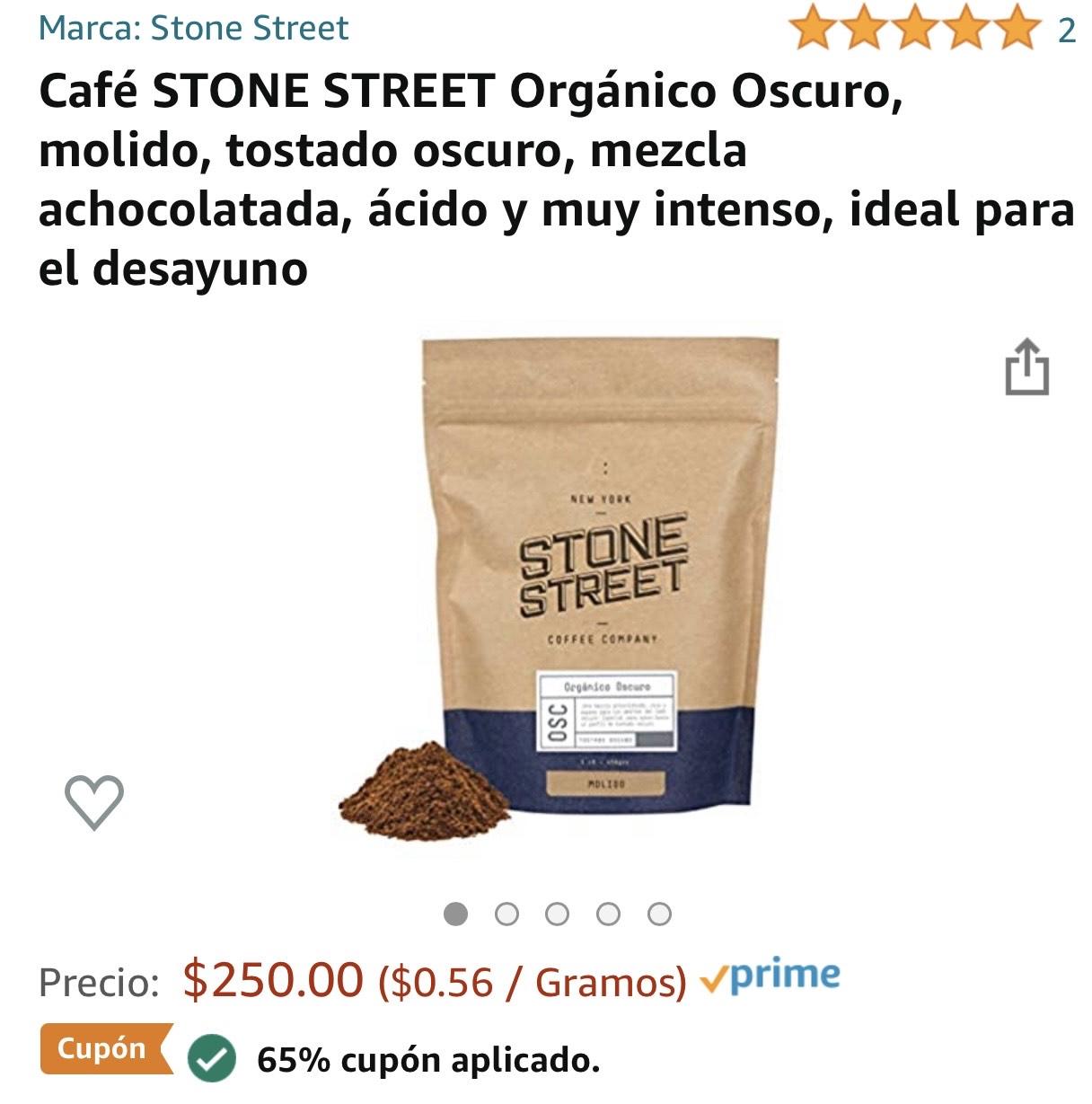 Amazon: Café STONE STREET 65%