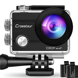 Amazon: Crosstour WiFi Cámara Deportiva Acción 1080P Full HD 2.0