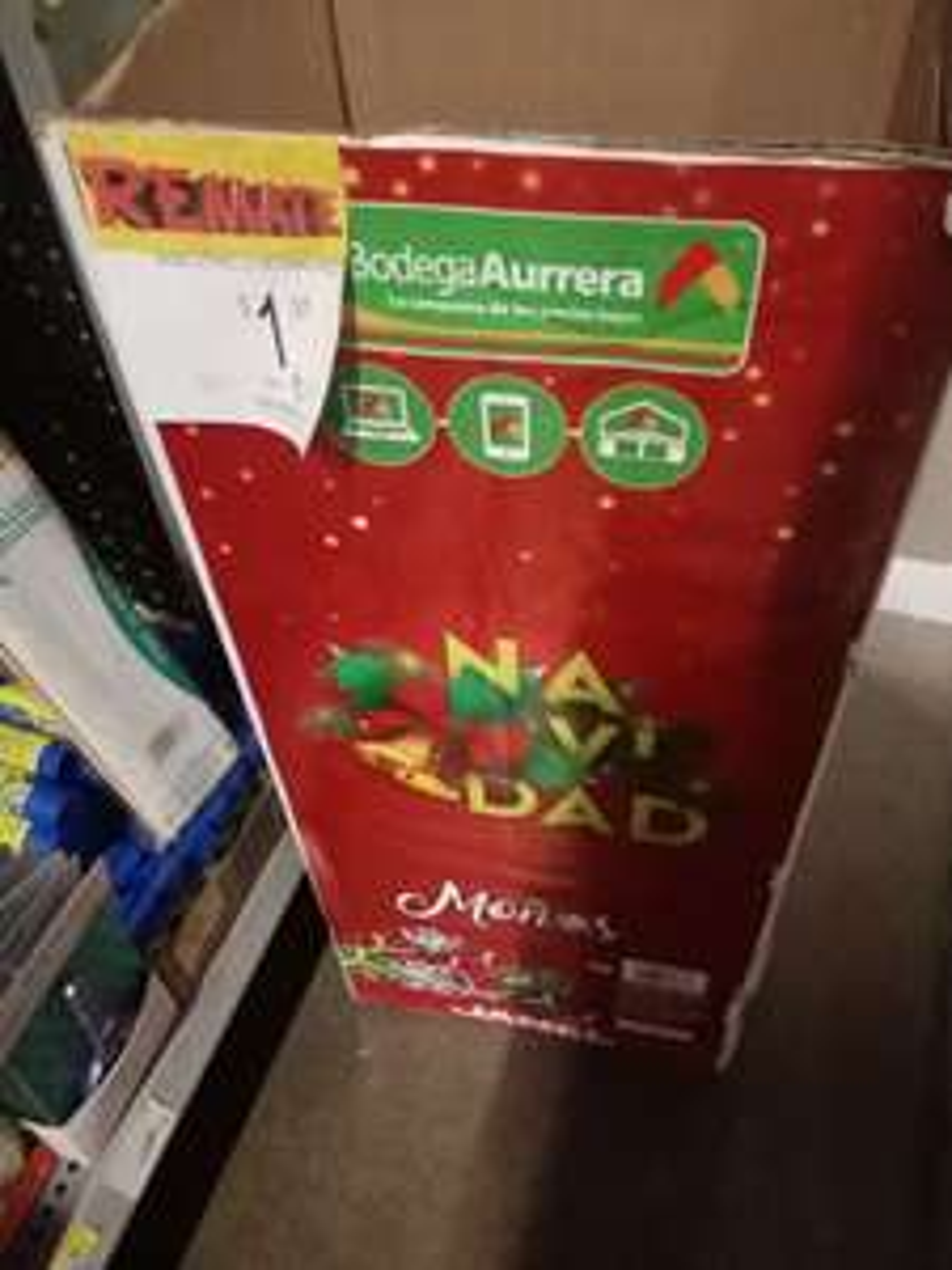 Bodega Aurrera: Moños de regalo a $1