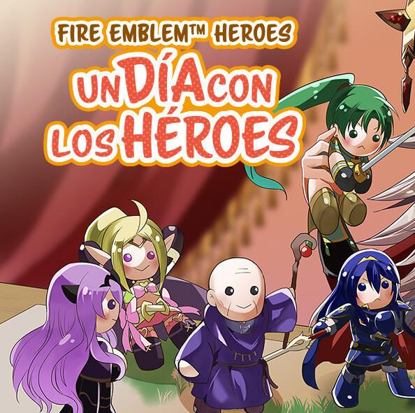 Nintendo: Manga Fire Emblem Heroes GRATIS Cada Semana