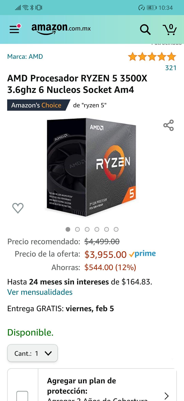 Amazon: Ryzen 5 3500X