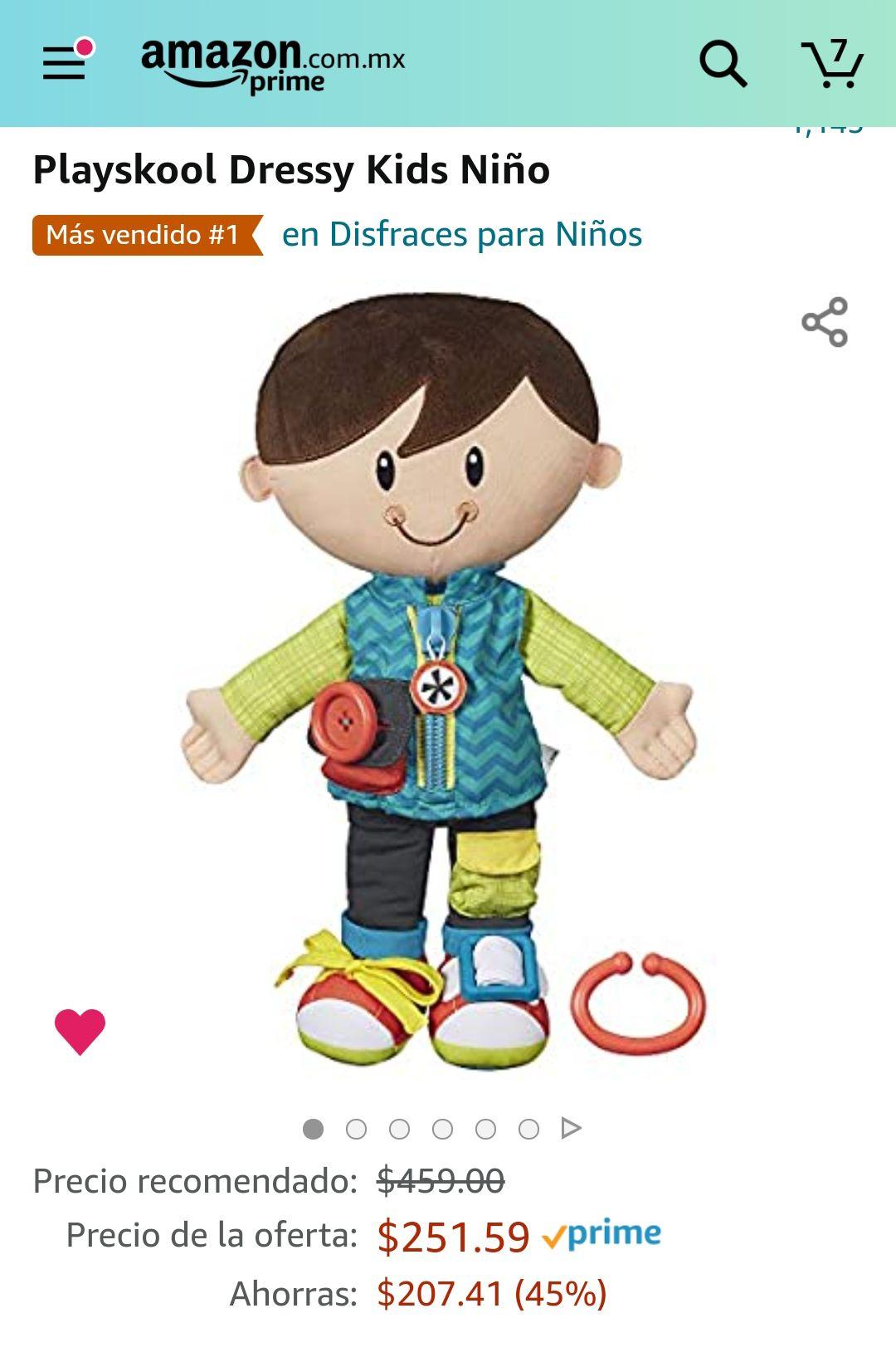 Amazon: Playskool Dressy Kids Niño