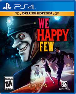 Game Planet - We happy few Deluxe Edition para PS4