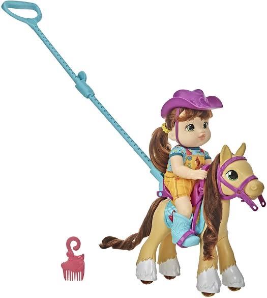 Walmart: baby alive paseo en pony