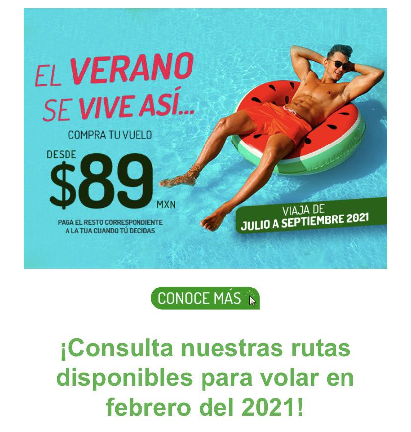 Vivaaerobus: Vive el verano en tu destino favorito ️ Vuela desde $89 MXN.