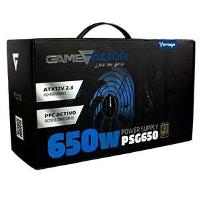 CyberPuerta Game Factor PSG650 80 PLUS Bronze 650W