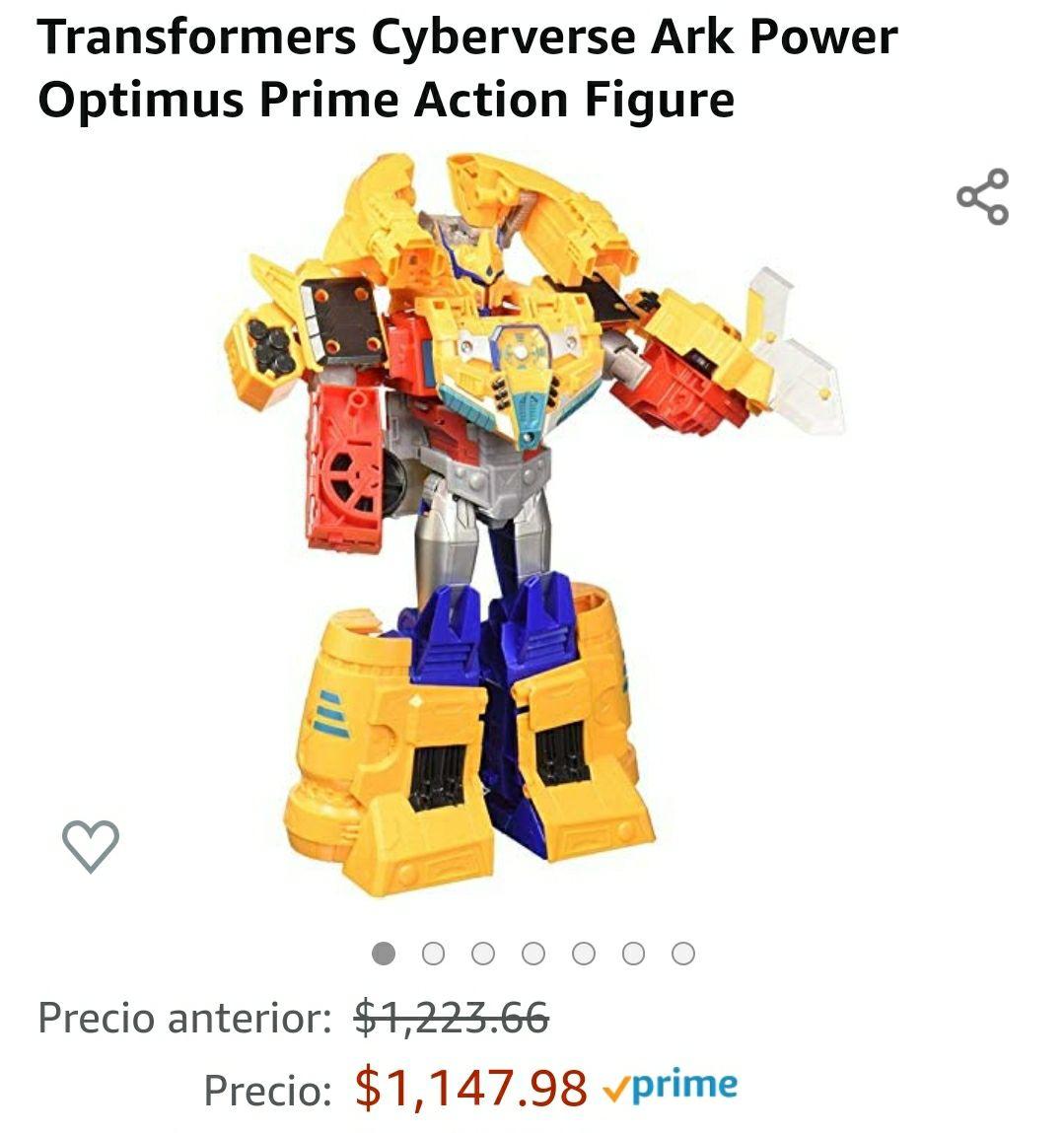 Walmart: optimus prime cyberverse ark power