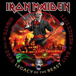 "Amazon - Iron Maiden ""Nights of the dead"" Live in Mexico Triple vinyl"