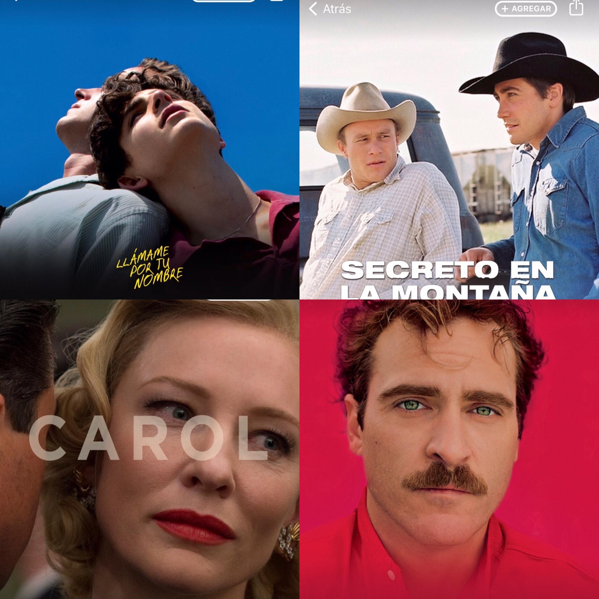 iTunes: YESTERDAY, SECRETO EN LA MONTAÑA Y VARIAS PELÍCULAS DE AMOR