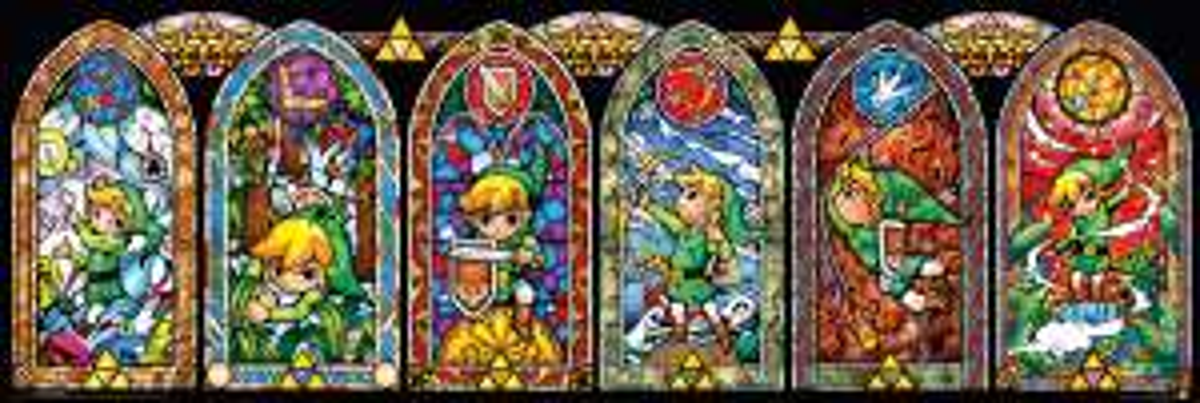 Game Planet: Poster The Legend of Zelda Wind Waker Vitral
