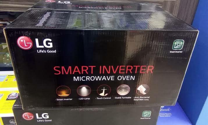 Sam's Club Coacalco: LG Smart Inverter Microwave Oven