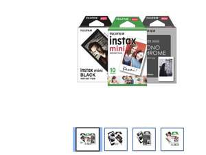 Best Buy: Fujifilm - Paquete de 3 - MonoChrome + Instax Mini + Instax Mini Black + Multi