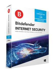 Best Buy: Bitdefender - Internet Security - 1 dispositivo - 1 Año de suscripción