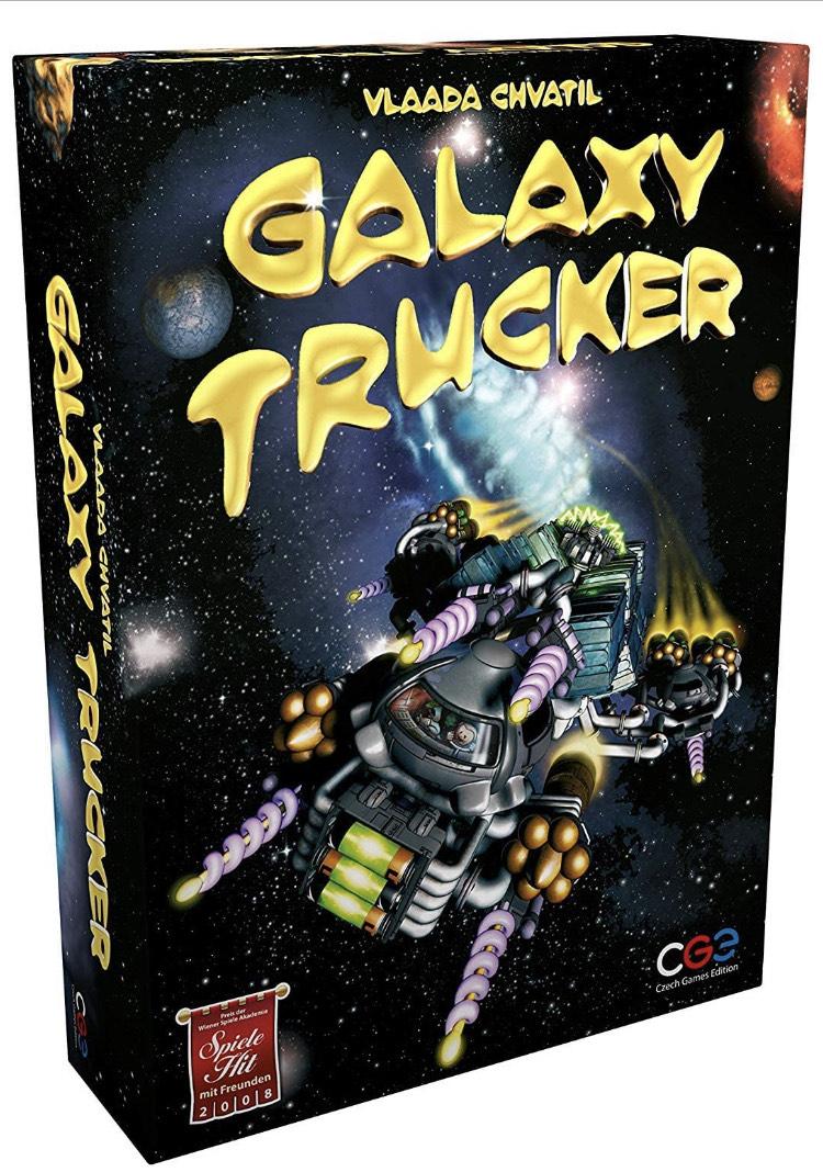 Amazon: Juego de mesa moderno Galaxy Trucker