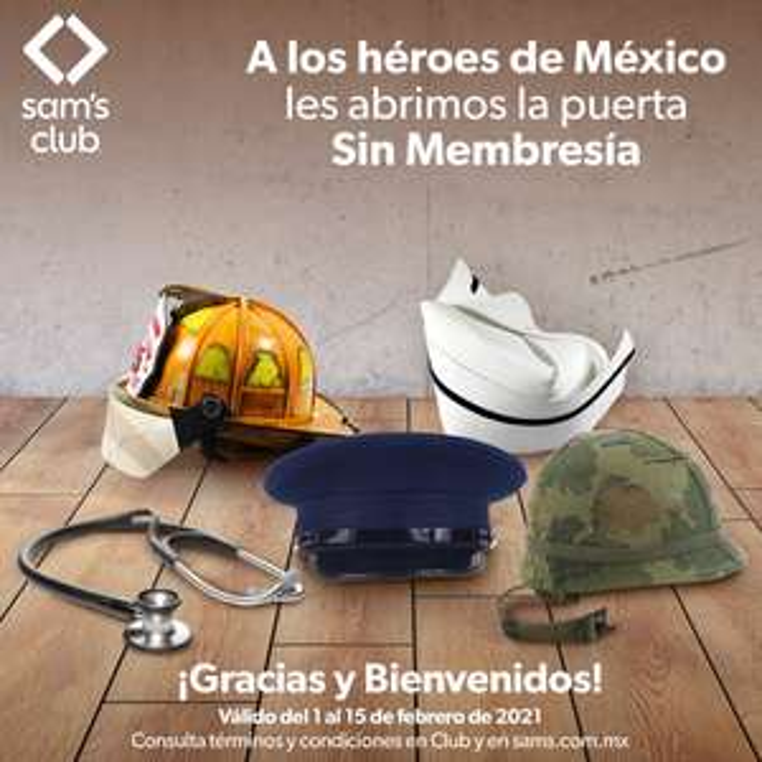 Sam's Club sin membresía a personal Salud