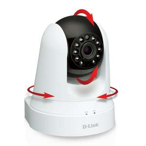 Amazon: Camara D-Link DCS-5020L Pan & Tilt Wi-Fi Camera (White) a $1,216