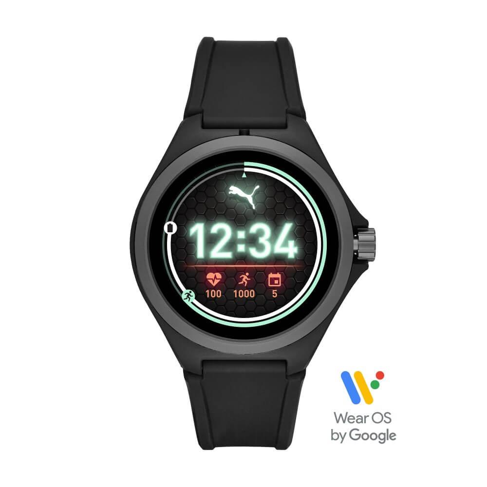 Best buy: Puma - Smartwatch generación 4 - Wear OS by Google - Negro