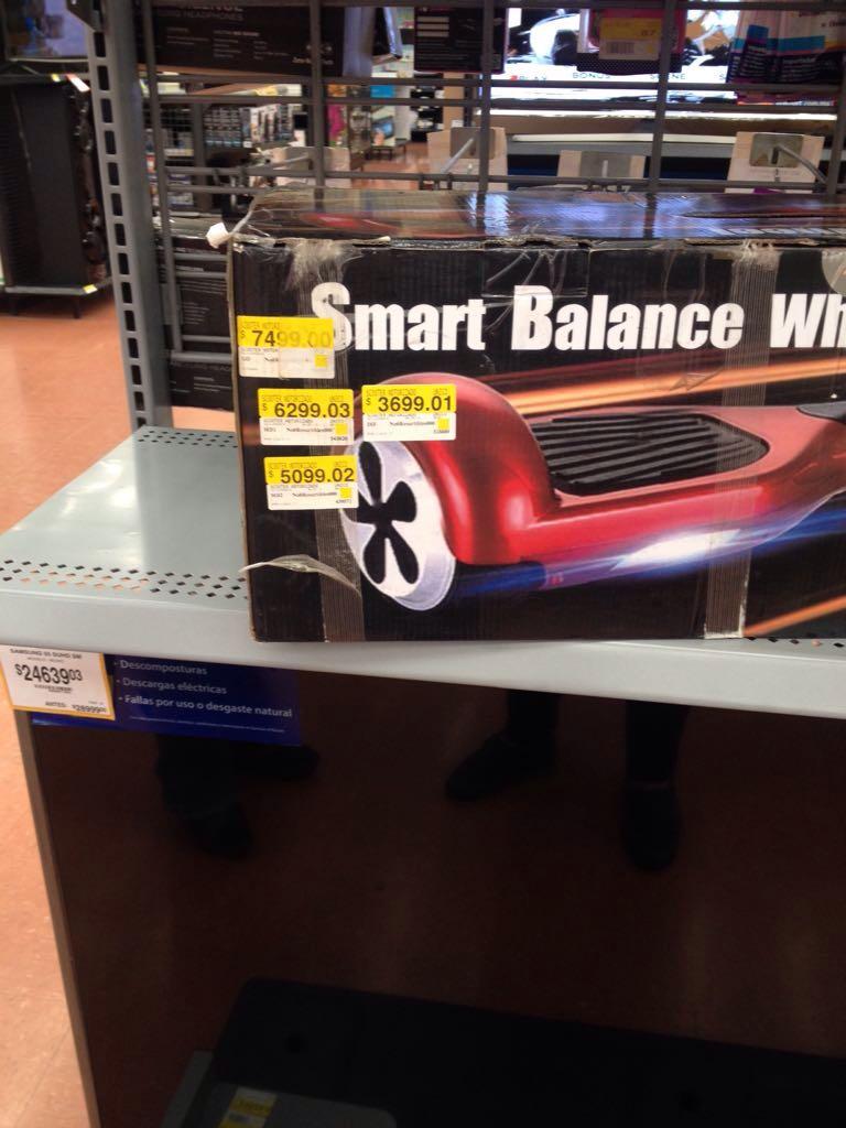 Walmart Cuitlahuac: smart balance a $3,699.01