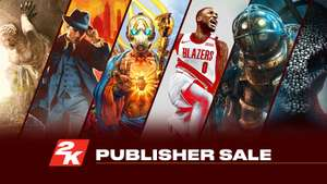 Steam: 2K rebajas del editor (Bioshock, Borderlands, NBA 2K, etc.)