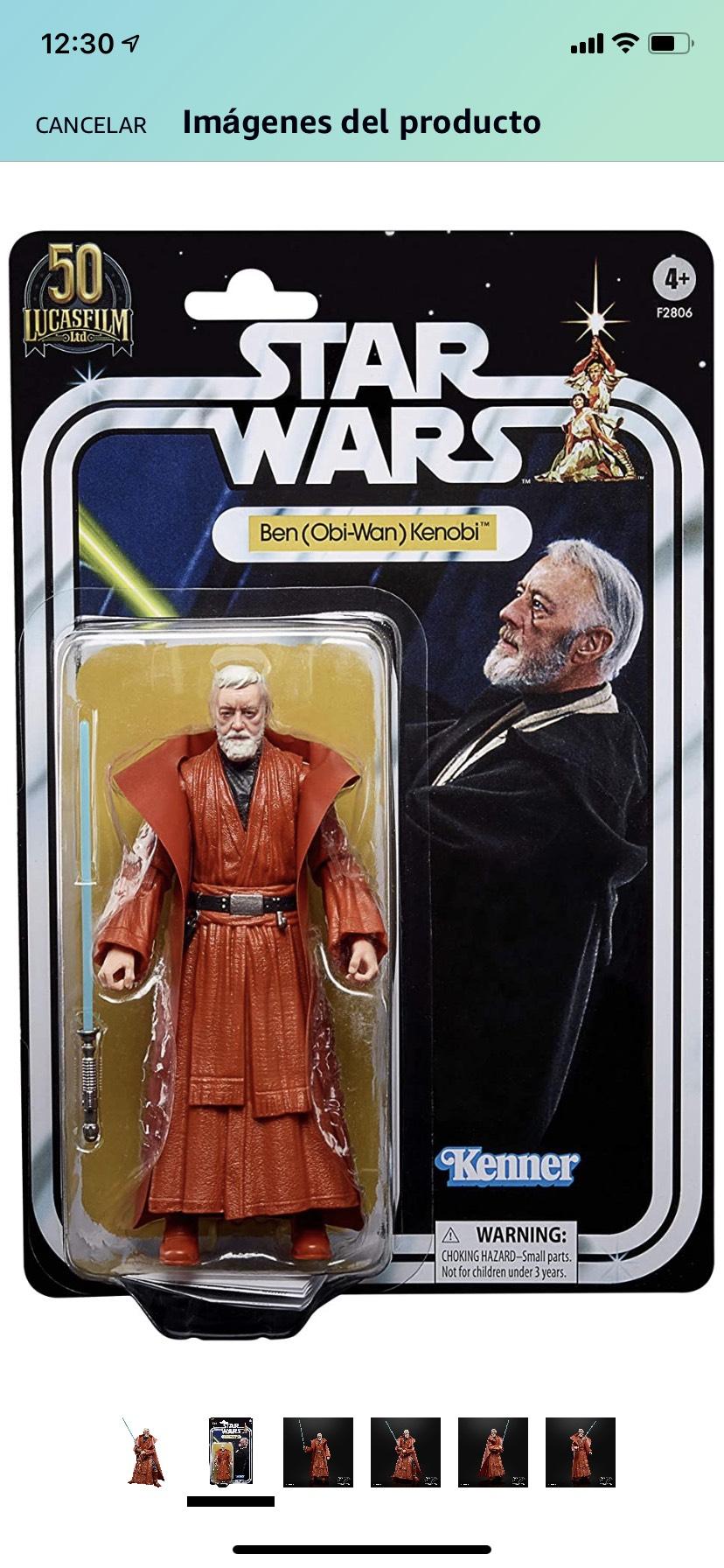 Amazon: Obi Wan Kenobi 50 Aniversario Black Series