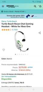 Amazon: Headset para Xbox